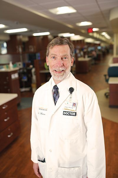 George Weiner is director of the UI's Holden Comprehensive Cancer Center.
