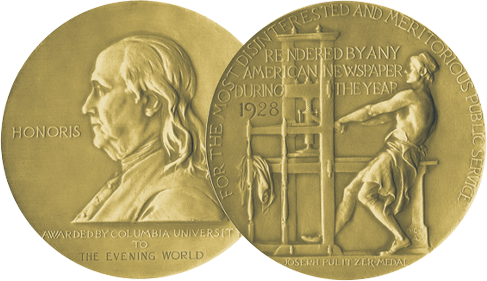 43 Pulitzer prize-winners among faculty and alumni.